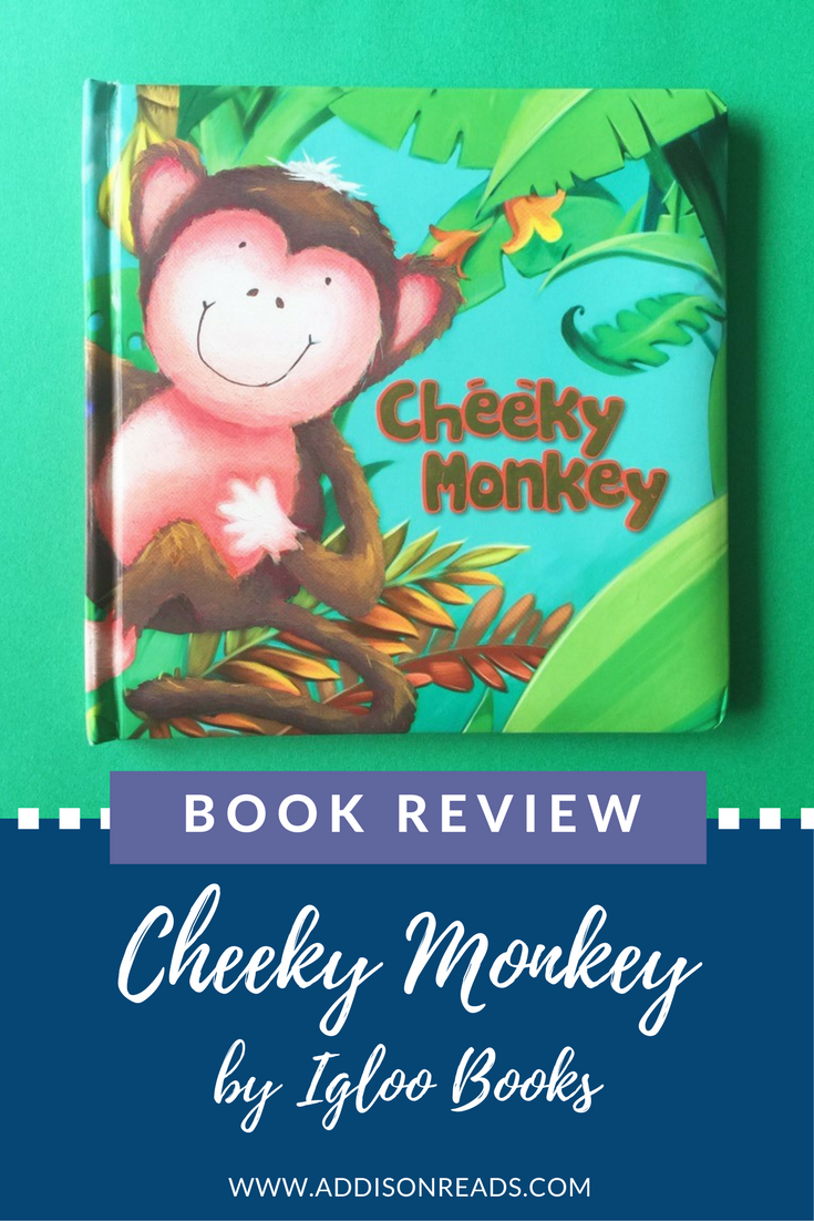 Cheeky Monkey is an adorable book about being honest - check out this book review and others @addisonreads --- www.addisonreads.com