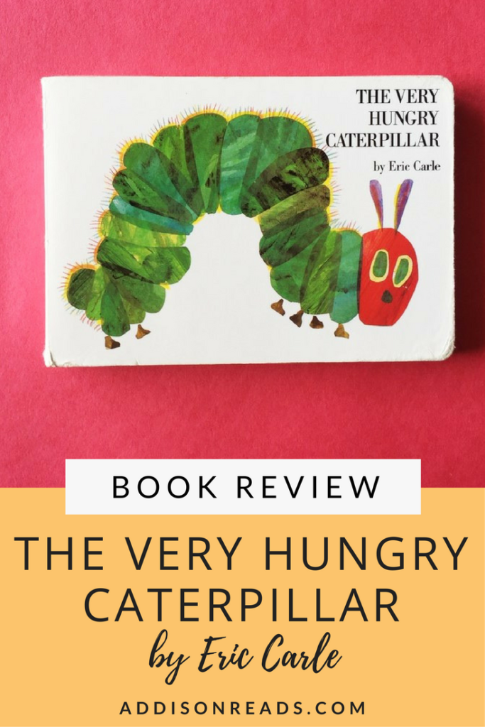 The Very Hungry Caterpillar by Eric Carle is a kids lit classic, follow this short story about a week in a little caterpillar's life as he eats LOTS of different foods. Children's Books with Morals | Best Childrens Books Toddler | Best Children's Books Baby | Best Children's Books of All Time | Children's Author for Kids | Gifts for Grandparents From Kids @addisonreads -- www.addisonreads.com