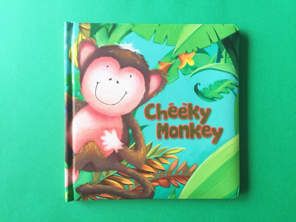 Cheeky Monkey Book