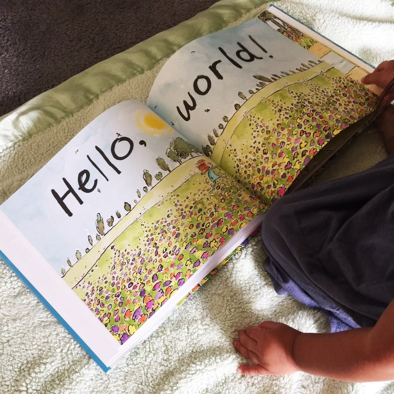 hello hello book hello world page