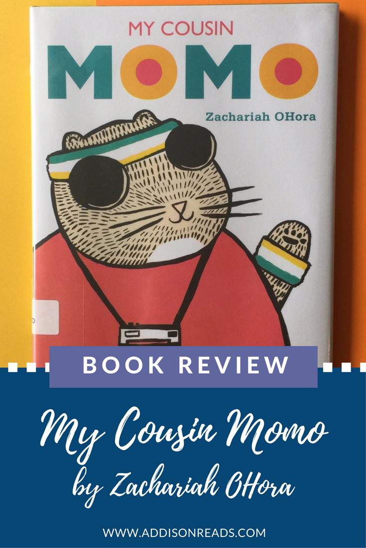 My Cousin Momo will teach your children about understanding people who are different and being willing to try things a new way. @addisonreads --- www.addisonreads.com