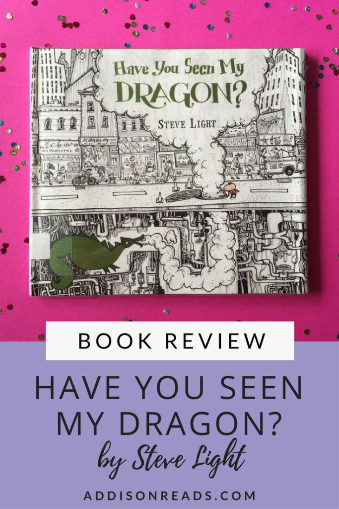 Have You Seen My Dragon by Steve Light is a great way to practice counting in a FUN and entertaining way. The book mixes black and white artistry with pops of color as you help find the dragon all through NYC.  Children's Books with Morals | Best Childrens Books Toddler | Best Children's Books Baby | Best Children's Books of All Time | Children's Author for Kids | Gifts for Grandparents From Kids @addisonreads -- www.addisonreads.com