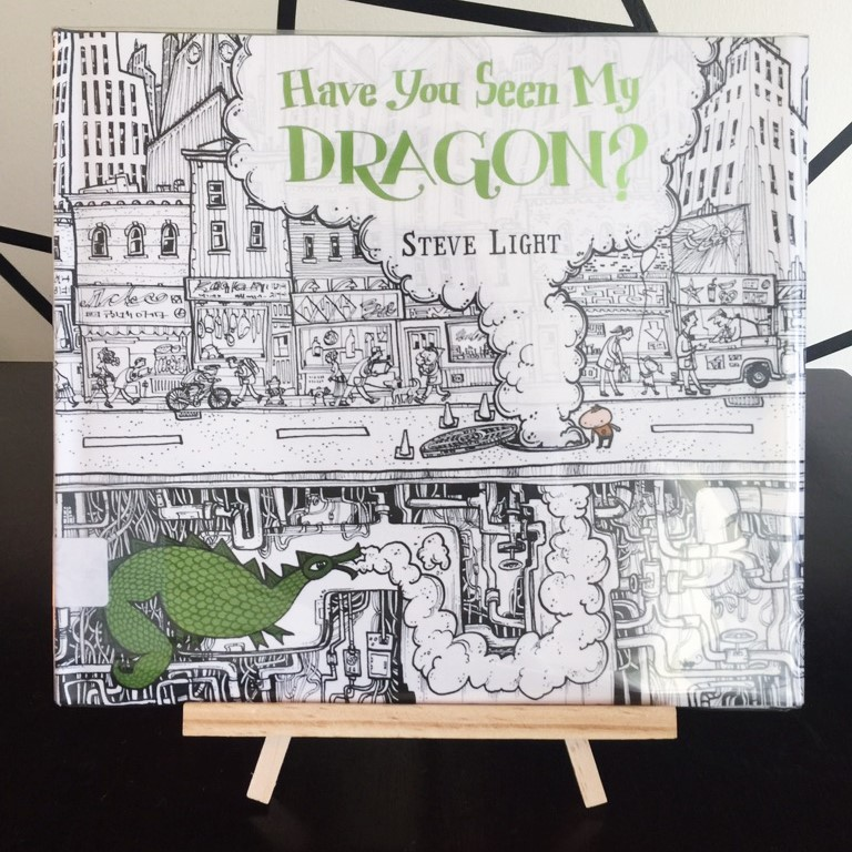Have You Seen My Dragon? Book Review by www.addisonreads.com