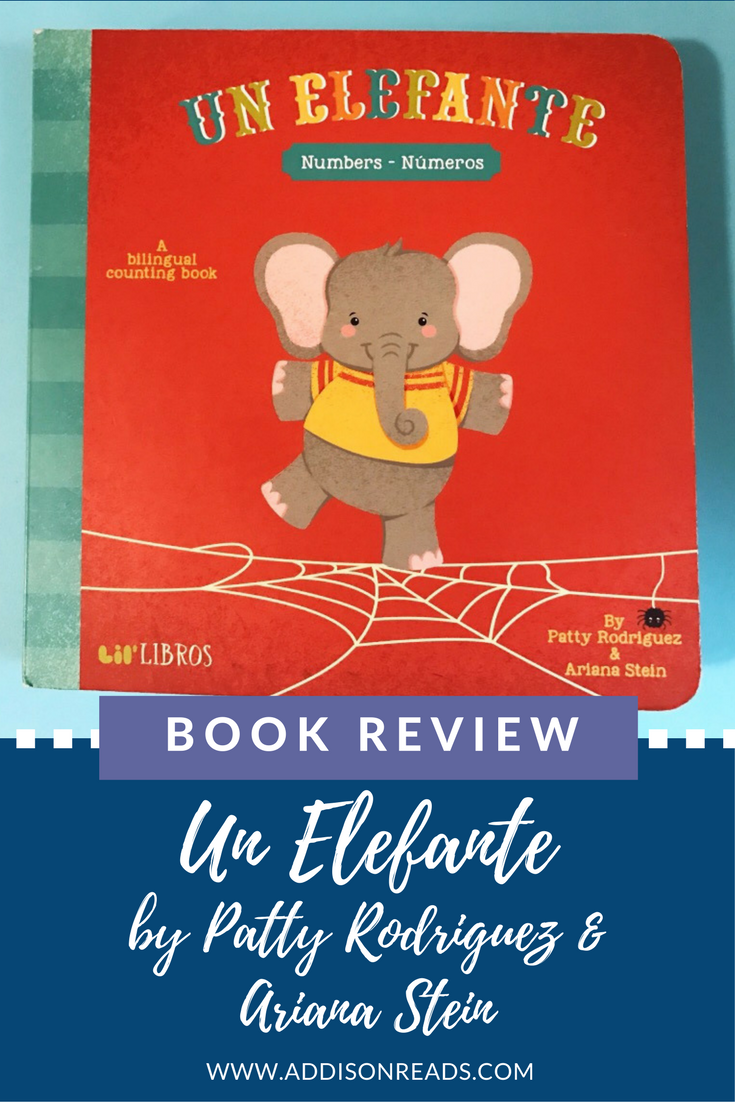 Un Elefante is a bilingual counting book by Lil Libros that integrates the latin nursery rhyme, Un Elefante se Balanceaba.