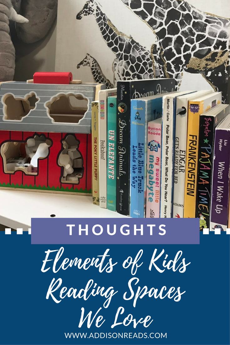 We LOVE to read, so why not have a wonderful space that we can enjoy our favorite activity in? These are the elements of kids reading spaces we adore.