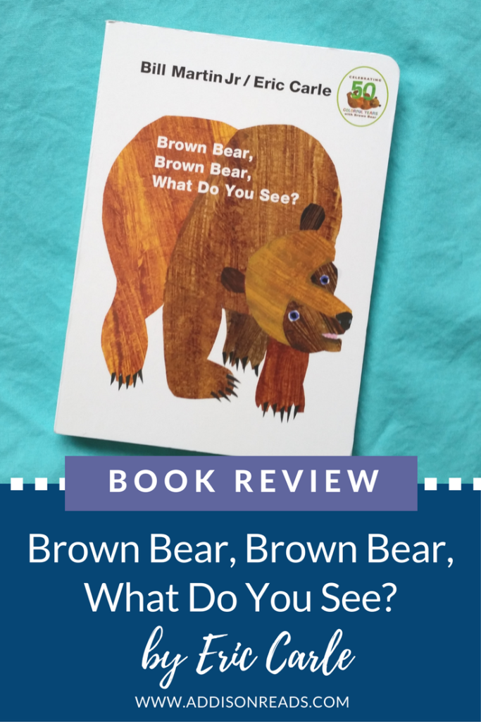 Brown Bear Brown Bear What Do You See | Guest Book Review by Pam Hodges | @addisonrads | www.addisonreads.com