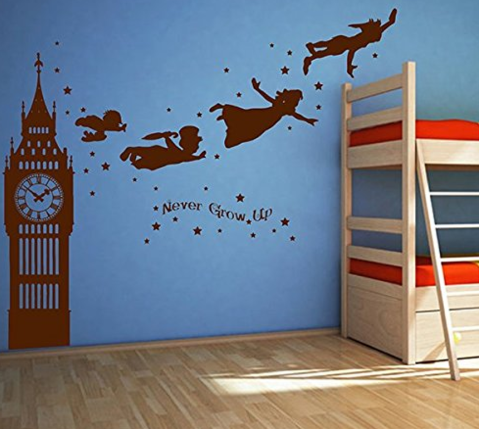 Wall decals -  Little Details to make your child's reading nook magical | @addisonreads | www.addisonreads.com