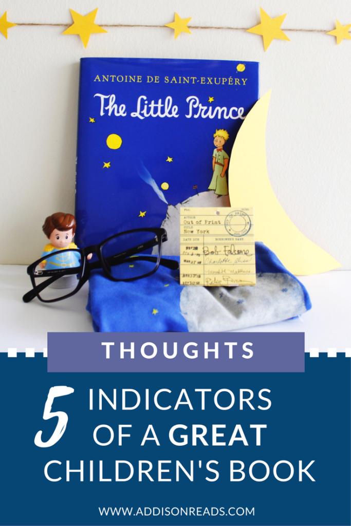 5 Indicators of a GREAT Children's Books | @addisonreads | children's books | favorite children's books | kids books we love | intentional bookshelf | home library | helping children read | how to help kids love reading