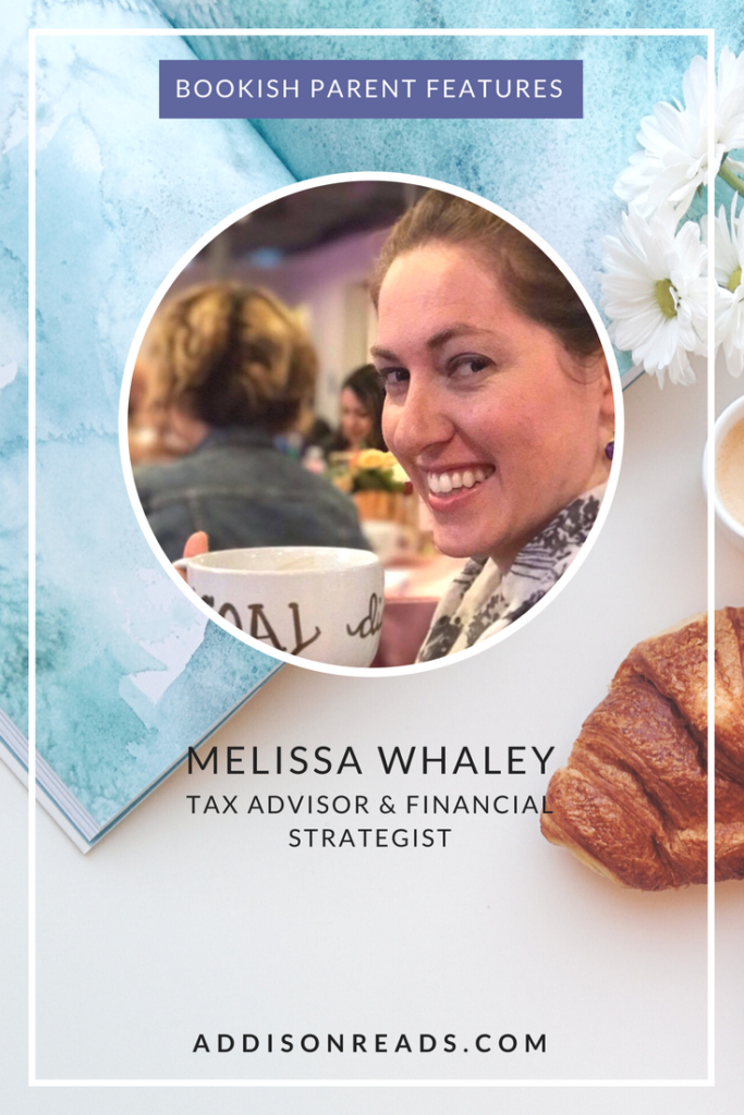 Melissa Whaley #BookishParentFeatures - @addisonreads | Intentional Parents | Inspiring Parents | Parenting with Literature | Intentional Bookshelf | Melissa Whaley