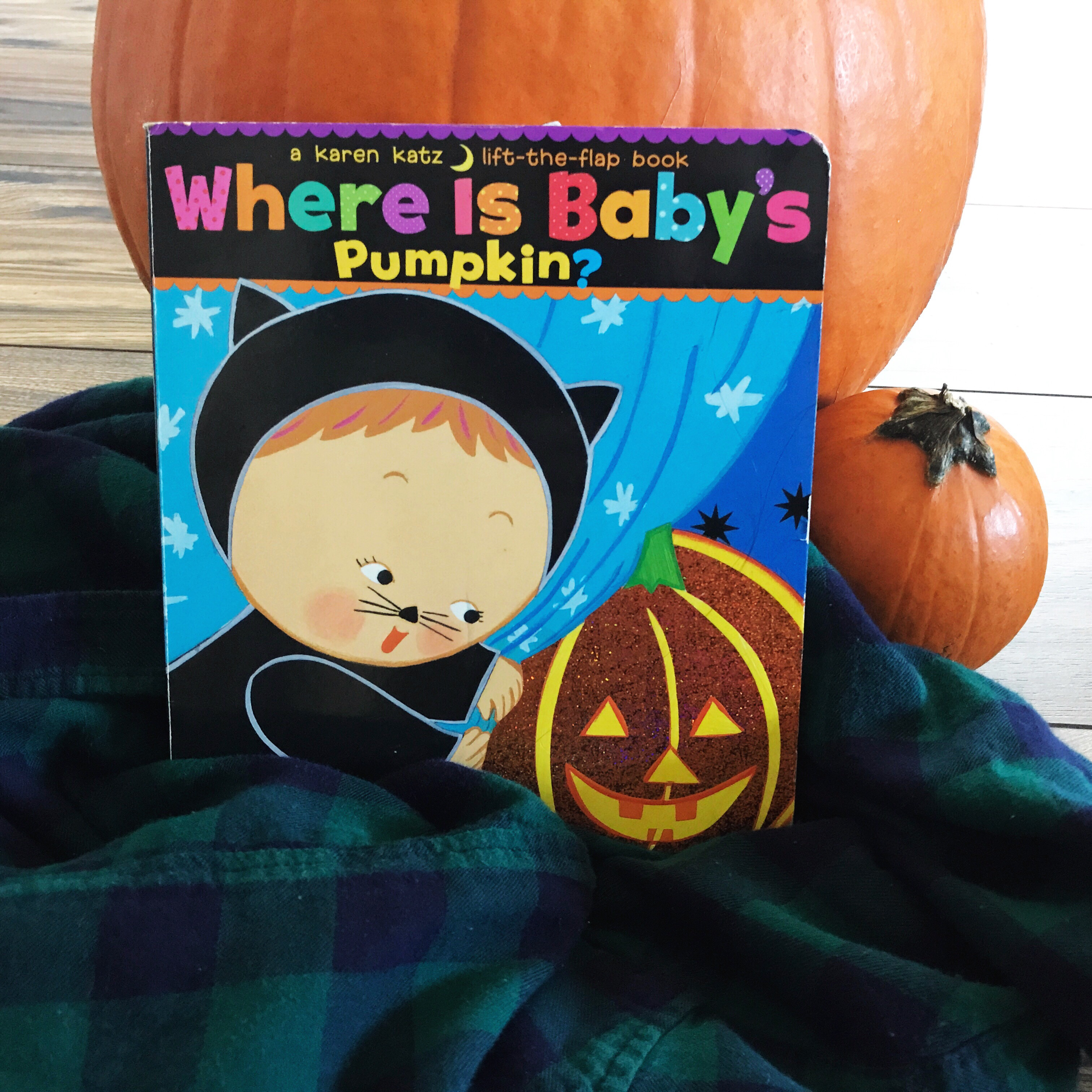 Where is Baby's Pumpkin? by Karen Katz | Parenting with Literature During Halloween