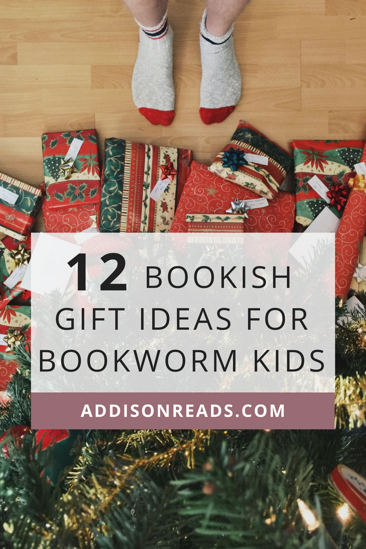 12 Bookish Gift Ideas for Bookworm Kids | Christmas Gifts for Bookworms | Presents for Bookworms | Book Ideas | Christmas Books for Kids | Simplified Christmas | Minimal Christmas | Intentional Gift Giving | Holiday Gift Guides | Kids books for Christmas | Thoughtful gift ideas for kids | Non-toy gifts