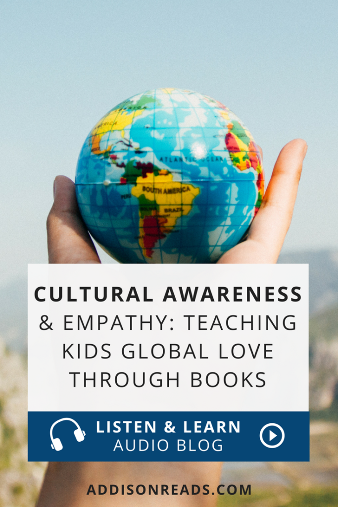 In a world that often seems to be at odds with egalitarian values, it's more important than ever to teach our children cultural awareness, empathy & foster global love in their hearts through children's books. @addisonreadsdiyjustcuz Cultural awareness teaching | cultural awareness for kids | Around the worlds | Cultural Awareness Learning | Cultural Awareness Activities | Cultural Diversity in the Classroom | Cultural Diversity for Kids