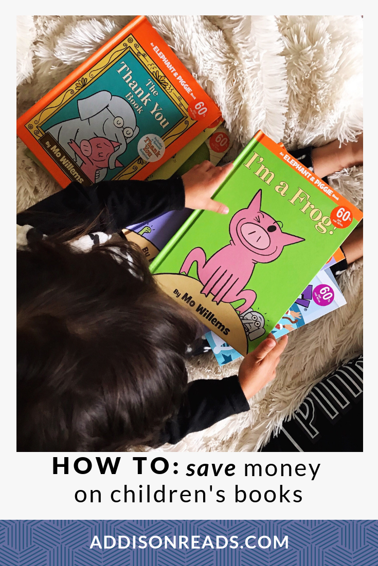 How to Save Money on Children's Books: Children's books are NOT cheap, how can you buy them without breaking the bank? Budgeting Tips | Children's Books | Budgeting Mama | Saving Money | Frugal Living
