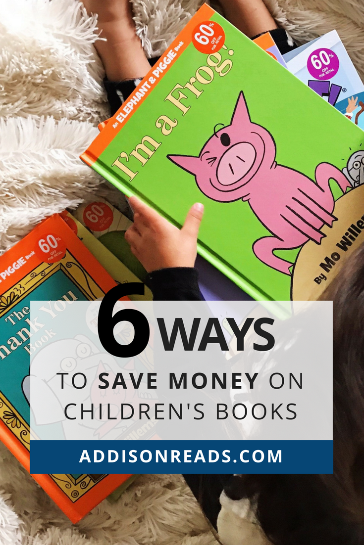 Building an intentional bookshelf can get expensive, really quickly! Learn our 6 ways to save money on books (that are STILL high quality).